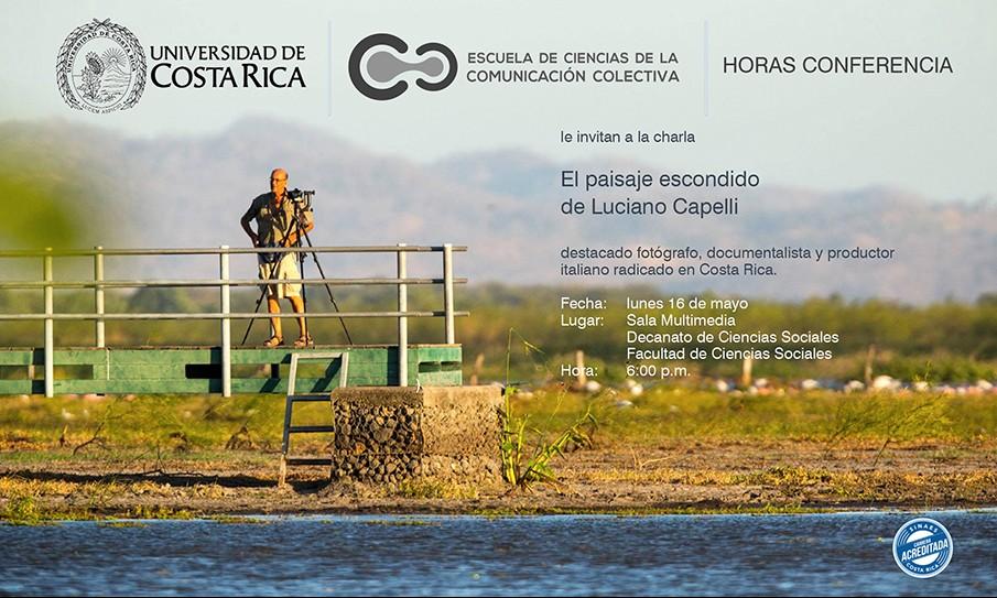 """Charla """"El paisaje escondido de Luciano Capelli"""" válida para Horas Conferencia ECCC"""