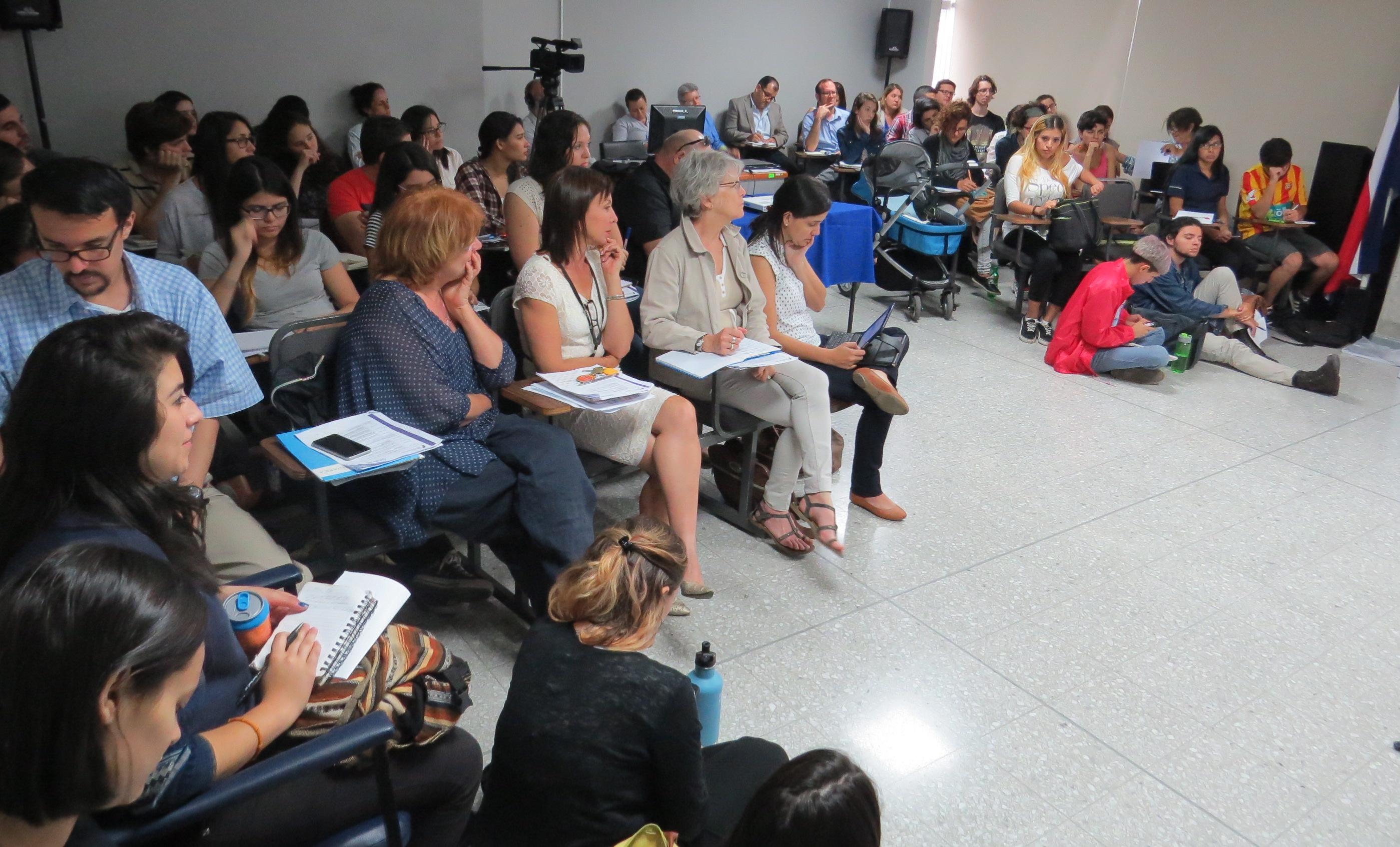 El Encuentro Feminismos, Género y Comunicación del CICOM y ECCC UCR se realizó en la Facultad de Ciencias Sociales de la Universidad de Costa Rica y contó con una notable asistencia.   Foto: CICOM