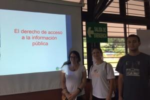 Estudiantes de Comunicación y otras disciplinas participan de los talleres sobre el derecho de acceso a la información pública de la ECCC y el PROLEDI UCR. PROLEDI /UCR.